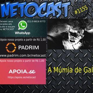NETOCAST 1155 DE 28/05/2019 - A Múmia de Gallotti