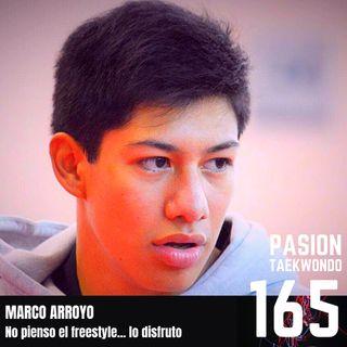 """Marco Arroyo """"No pienso el freestyle... lo disfruto"""""""