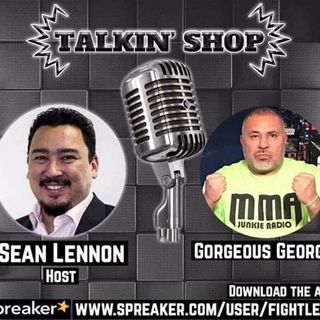 Talkin' Shop MMA Junkie Radio Host Gorgeous George UFC 238