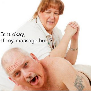 Episode 4: Is it okay if my massage hurt?