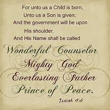 AUDIO PRAYER-Child Born/Son Given