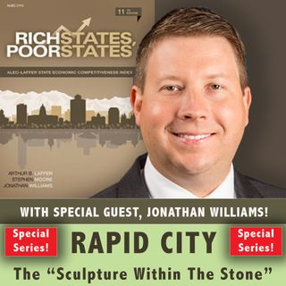 EPISODE #22: RICH STATES, POOR STATES...HOW WE RATE.  with Author Jonathan Williams
