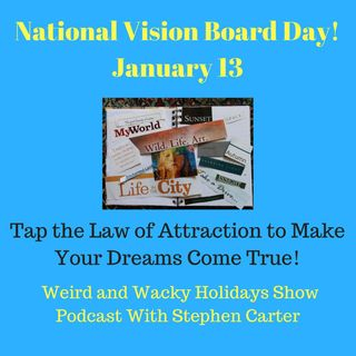 National Vision Board Day - Ep13