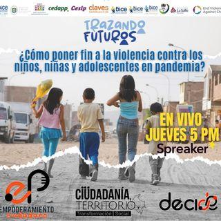 Violencia contra niños, niñas y adolescentes en pandemia