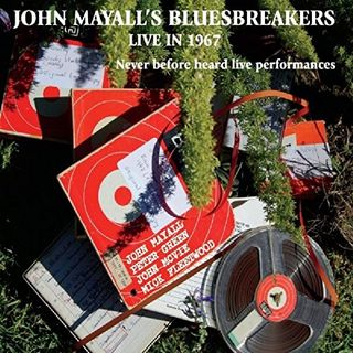 233 - John Mayall - Bluesbreakers in 1967 with Peter Green