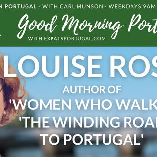 Inspiring expat (and immigrant) stories with author Louise Ross on Good Morning Portugal!
