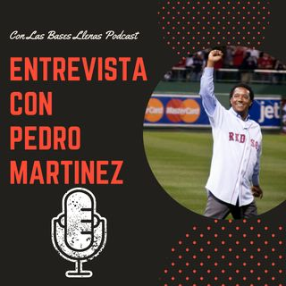 Entrevista con el Salón de la Fama: Pedro Martínez