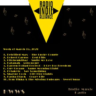 HWWS Indie Music Radio Top Ten Spotlight  03152021