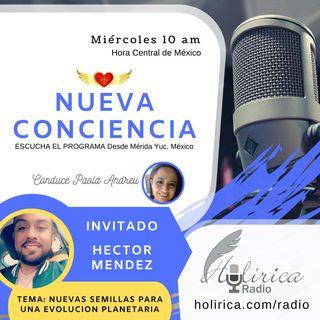 Nueva Conciencia entrevista con Hector Mendez