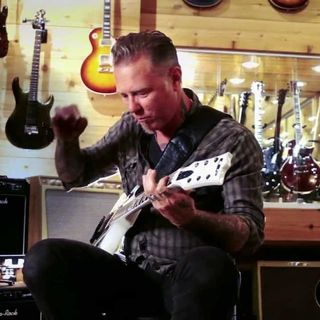 James Hetfield - Guitar Center (Clean)