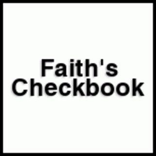 Faith's Checkbook by C. H. Spurgeon