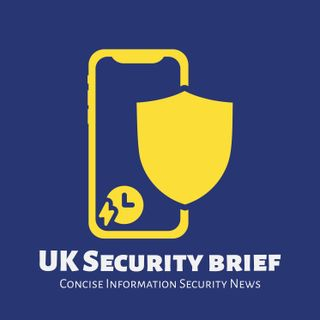 UK Security Brief - Facebook just do one...