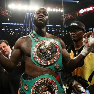 Ringside Boxing Show: Guest Deontay Wilder promises to bomb out Dominic Breazeale, finish the job vs. Fury