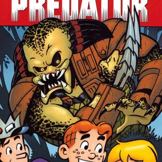 "Source Material #187 - ""Archie vs Predator"" (Dark Horse, Archie, 2015)"