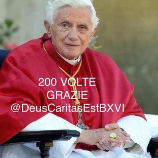 ACCESSO AL CIBO di Benedetto XVI