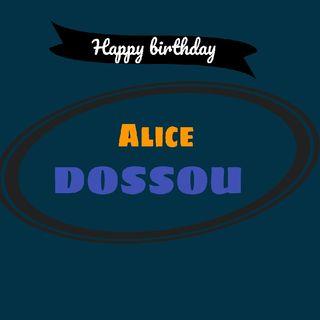 HBD Alice DOSSOU
