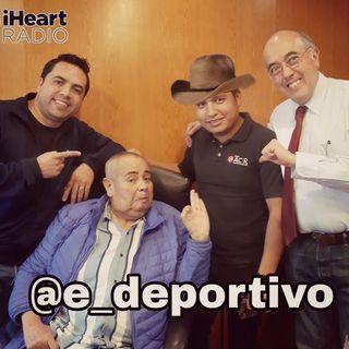 Llegamos al viernes con, Rudo, Pepe y Alex en Espacio Deportivo de la Tarde 10 de Enero 2020