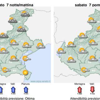 Previsioni meteo 6-9 agosto: pressione e afa in aumento