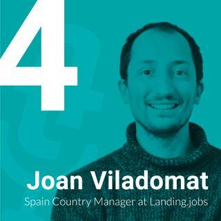 Episodio #4- Profesionales IT y escasez de talento con Joan Viladomat de Landing.jobs y Víctor Humanes de OpenWebinars