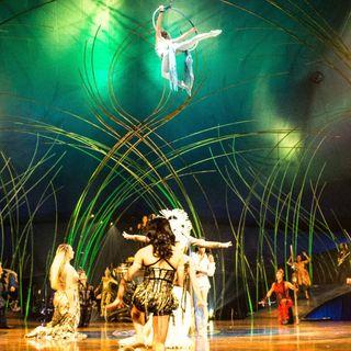 """Premiere des Zirkus """"Cirque du Soleil"""" (am 16.06.1984)"""