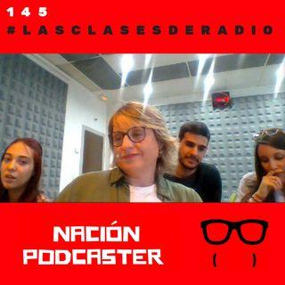 145 #lasclasesderadio una iniciativa de @upsa con @aperezmaillo @EsmeraldaRomanQ @Javier96a6 @lorenaarevalo_2 @nacionpodcaster