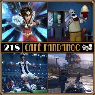 Ep218 (30/11/18): Café Fandango Lite