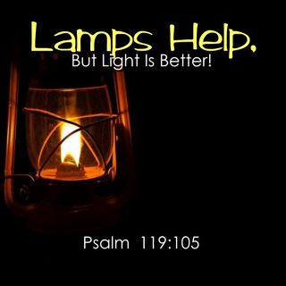 """Lamps Help, But Light Is Better!"""