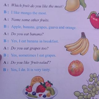 Conversation For Kids - Topic - Fruits