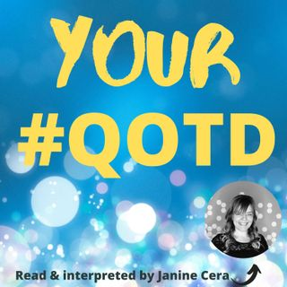 Episode 13 - Your #QOTD! Why it's important to read books?
