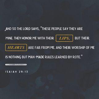 Episode 275: Isaiah 29:13 (December 7, 2018)