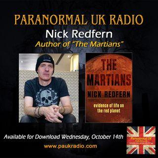 PAUK - Nick Redfern - The Martians - 101420