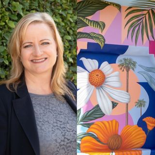 Spring in Costa Mesa, California - Jenny Wedge on Big Blend Radio
