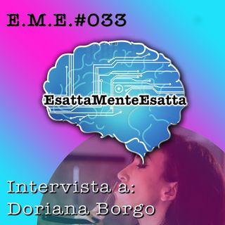 P33 Intervista a Doriana Borgo di TheBarBer.it