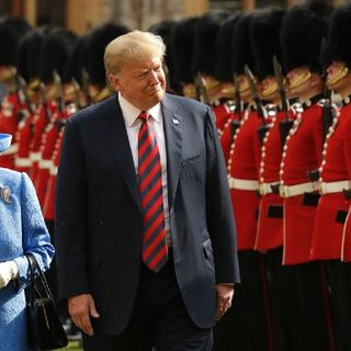 Hail To American Royalty! Trump Visits English Royalty, How Do you Think It Will Go?