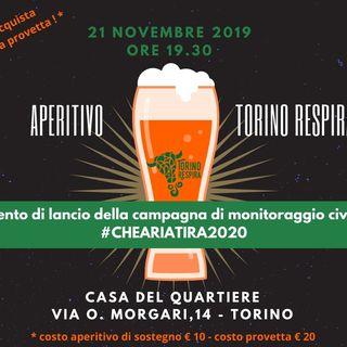 Tutto Qui - martedì 26 novembre - Lancio della nuova campagna Che aria tira a Torino