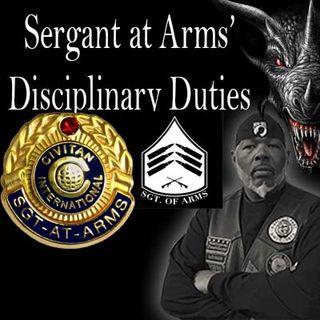 Bible Study Sundays Sgt At Arms Disciplinary Duties 1