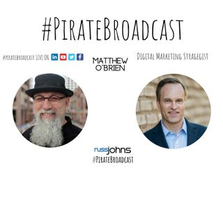 Catch Matthew O'Brien on the PirateBroadcast