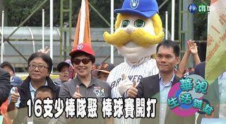 17:20 16支少棒隊聚 棒球賽開打 ( 2019-07-05 )