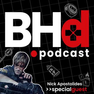 Interview with Nick Apostolides (Leon Kennedy)
