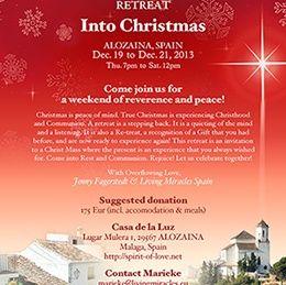 Retreat Into Christmas Session 3a