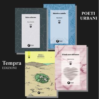 Poeti Urbani. Quattro Autori per Tempra Edizioni