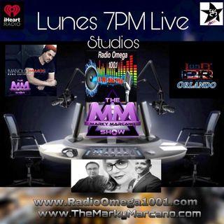 Live Studio Radio Omega 100.1  Cantante Manolo Ramos   Urban Rock Los DPR