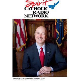 Governor Pete Ricketts During the Spring Care-a-Thon 2021