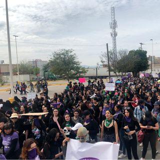 En todo México se realizan marchas por el Día de la Mujer