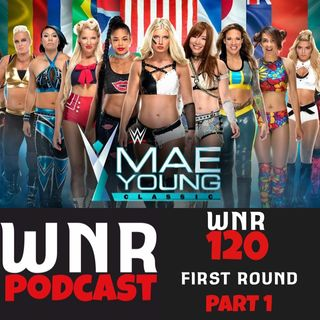 WNR120 WWE MAE YOUNG CLASSIC FIRST ROUND P1