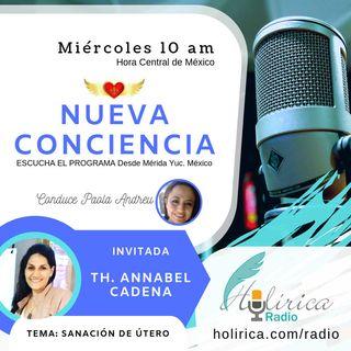 Nueva conciencia entrevista con Annabel Cadena