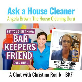 Bar Keepers Friend - Chat with Christina Roark from SerVass Laboratories