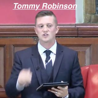 Morning minute Tommy Robinson Speaks at the Oxford Union March 24 2017