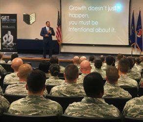 "Daniel Gomez Inspires Our Military By Focusing On A Leader's Journey To Influence: ""Strengthening and Growing The Leader Within"""