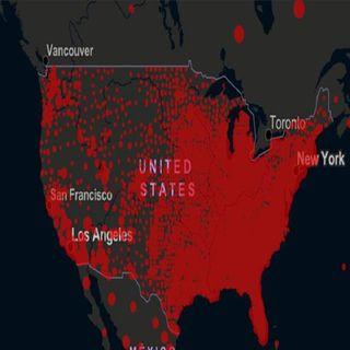 EUA alcanzó los 13 millones de contagios de covid-19